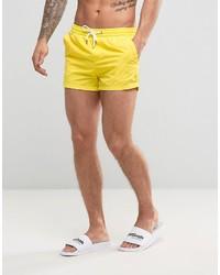 Желтые шорты для плавания от Pull&Bear