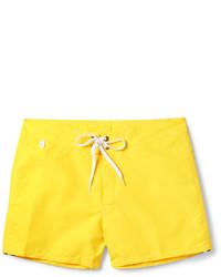 Желтые шорты для плавания от Sundek