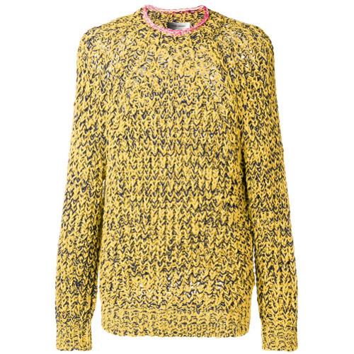 мужской желтый вязаный свитер от Isabel Marant 18 970 руб
