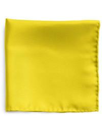 Желтый нагрудный платок