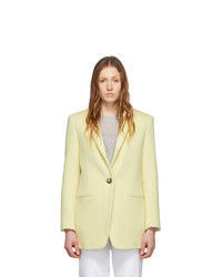 Женский желтый пиджак от Isabel Marant