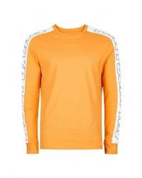 Мужской желтый свитер с круглым вырезом от Topman
