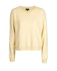 Женский желтый свитер с круглым вырезом от Topshop