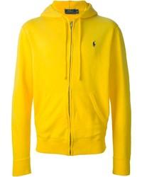Желтый худи