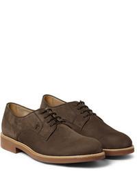 замшевые туфли дерби original 2416029