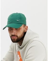 Мужская зеленая бейсболка от Nike