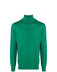 Мужская зеленая водолазка от Cruciani