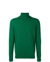 Мужская зеленая водолазка от Laneus