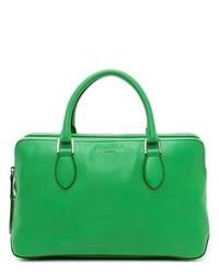Зеленая кожаная сумочка