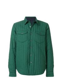Зеленая куртка-рубашка