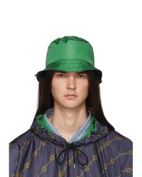 Мужская зеленая панама от Gucci