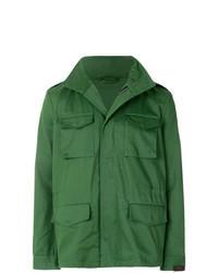 Зеленая полевая куртка