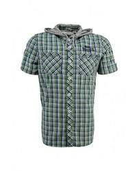 Мужская зеленая рубашка с коротким рукавом от Lonsdale