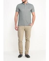 Мужская зеленая футболка-поло от Tom Farr