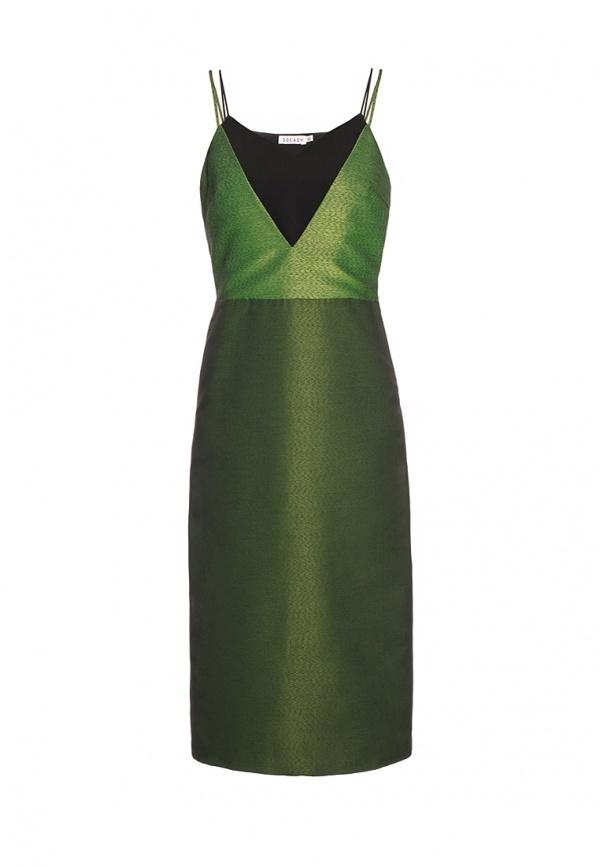 625346fae8d4 Зеленое вечернее платье от Soeasy