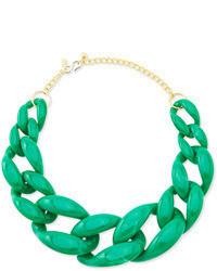 Зеленое колье