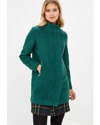 Женское зеленое пальто от Befree