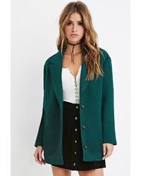 Женское зеленое пальто от Forever 21