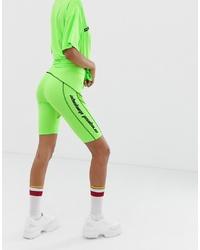 Зелено-желтые велосипедки