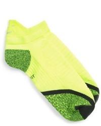 Зелено-желтые носки