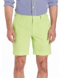 Зелено-желтые шорты