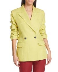 Зелено-желтый пиджак