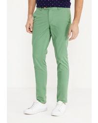 Зеленые брюки чинос от Angelo Bonetti