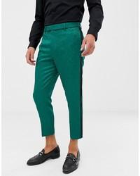 Зеленые брюки чинос от ASOS Edition
