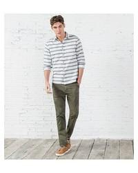 Зеленые брюки чинос от SPRINGFIELD