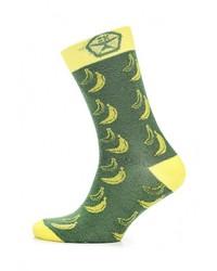Мужские зеленые носки от Heritage