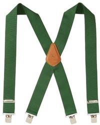 Зеленые подтяжки