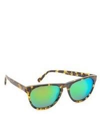 Зеленые солнцезащитные очки