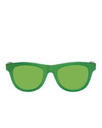 Мужские зеленые солнцезащитные очки от Bottega Veneta