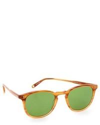 Женские зеленые солнцезащитные очки от Garrett Leight