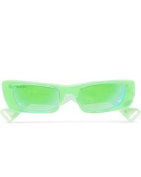 Мужские зеленые солнцезащитные очки от Gucci