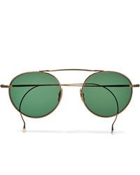 Мужские зеленые солнцезащитные очки от Mr Leight