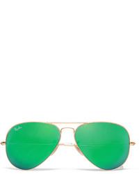 Мужские зеленые солнцезащитные очки от Ray-Ban