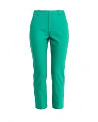 Женские зеленые узкие брюки от adL