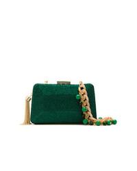 8da409f05bbb Купить зеленый клатч с украшением - модные модели клатчей (16 ...