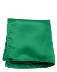 Зеленый нагрудный платок
