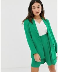 Женский зеленый пиджак от ASOS DESIGN