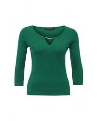 Женский зеленый свитер с круглым вырезом от Tom Farr