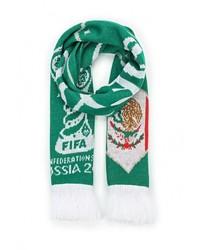 Мужской зеленый шарф от adidas Performance