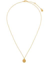 Золотая подвеска от Astley Clarke