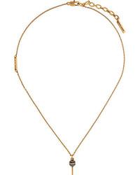 Золотая подвеска от Marc Jacobs