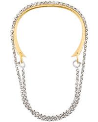 Золотое колье от Charlotte Chesnais