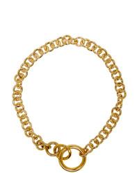 Золотое колье от Laura Lombardi