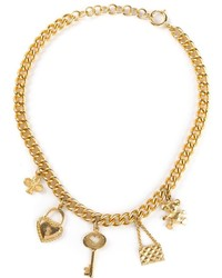 Золотое колье от Moschino