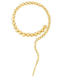 Золотое колье от Paula Mendoza