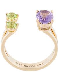 Золотое кольцо от Delfina Delettrez